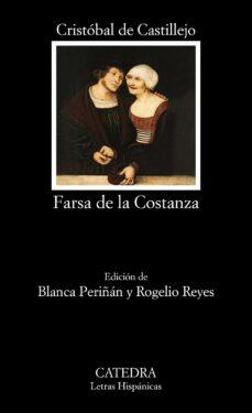 Libro de audio gratuito con descarga de texto FARSA DE LA COSTANZA de CRISTOBAL DE CASTILLEJO 9788437630571