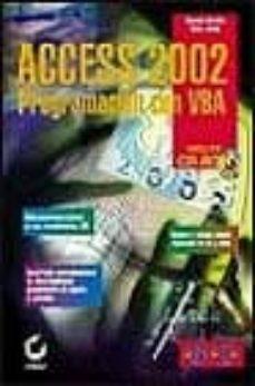 Descargar ACCESS 2002: PROGRAMACION CON VBA gratis pdf - leer online