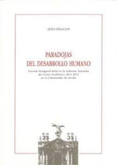 paradojas del desarrollo humano-jesus palacios-9788447213771