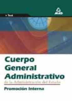 Cdaea.es Cuerpo General Administrativo De La Administracion Del Estado: Pr Omocion Interna Image