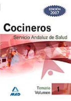 Vinisenzatrucco.it Cocineros Del Servicio Andaluz De Salud. Sas. Temario (Vol. I) Image