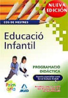 Followusmedia.es Educadio Infantil: Cos De Mestres: Programacio Didactica Image