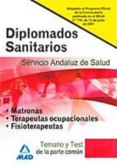 Carreracentenariometro.es Diplomados Sanitarios Del Servicio Andaluz De Salud. Temario Y Te St De La Parte Comun. Image