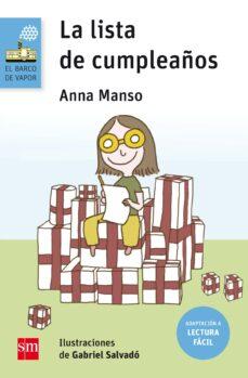 La Lista De Cumpleaños Lectura Fácil Anna Manson Munne Comprar Libro 9788467595871