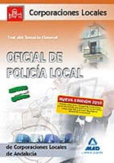 Emprende2020.es Oficial De La Policia Local De Andalucia. Test Del Temario Genera L Image