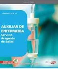 Debatecd.mx Auxiliar De Enfermeria Servcio Aragones De Salud. Temario Vol. Ii I. Image