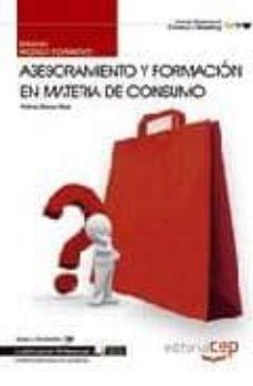 Curiouscongress.es Manual Asesoramiento Y Formacion En Materia De Consumo. Cualifica Ciones Profesionales Image