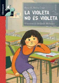 Permacultivo.es La Violeta No Es Violeta (Librosaurio: +8 Anys) Image