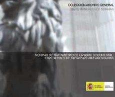 Geekmag.es Normas De Tratamiento De La Serie Documental: Expedientes De Inic Iativas Parlamentarias Image