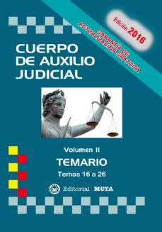 Cdaea.es Cuerpo De Auxilio Judicial Volumen Ii Temario Image