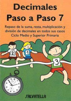 Cronouno.es Decimales Paso A Paso 7, Educacion Primaria Image