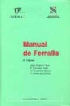 manual de ferralla (3ª ed.)-jose calavera ruiz-9788488764171