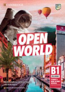 Descargar OPEN WORLD PRELIMINARY. STUDENT S BOOK WITHOUT KEY 2019 gratis pdf - leer online