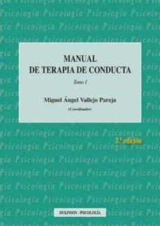 Descargar MANUAL DE TERAPIA DE CONDUCTA TOMO I gratis pdf - leer online