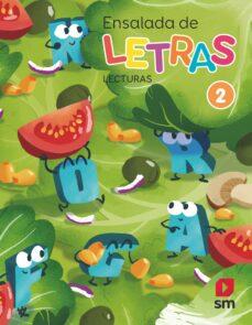 LENGUA CASTELLANA ENSALADA DE LETRAS 2º EDUCACION PRIMARIA - LECTURAS CAST
