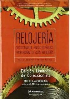 Iguanabus.es Relojeria: Diccionario Profesional Alta Relojeria Image