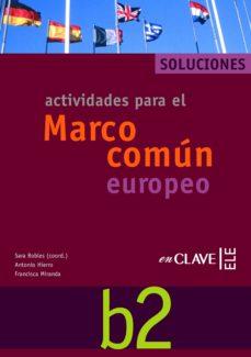 Ojpa.es Actividades Para El Marco Comun Europeo B2: Solucionario Image