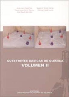 Elmonolitodigital.es Cuestiones Basicas De Quimica (Vol. Ii) Image