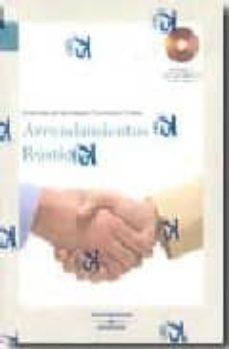 ARRENDAMIENTOS RUSTICOS (INCLUYE CD-ROM) - ELENA ERVITI ORQUIN | Adahalicante.org