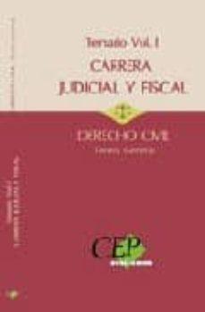 Followusmedia.es Temario Oposiciones A La Carrera Judicial Y Fiscal. Derecho Civil Vol. I Teoria General Image