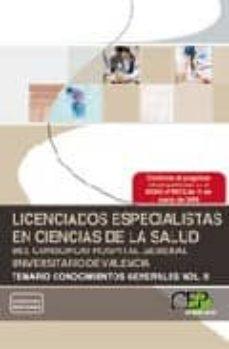 Eldeportedealbacete.es Licenciados Especialistas En Ciencias De La Salud Del Consorcio Hospital General Universitario De Valencia Temario Vol Ii Image