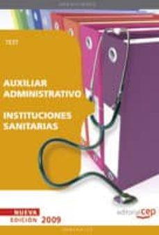 Padella.mx Auxiliar Administrativo De Instituciones Sanitarias. Test Image