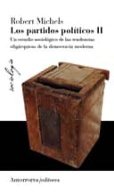 los partidos politicos (vol. 1)-robert michels-9789505181971