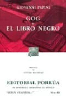 Vinisenzatrucco.it Gog; El Libro Negro Image
