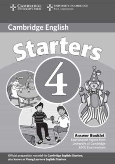 Ojpa.es Cambridge Young Learners English Test Starters 4 : Answer Booklet (2ª Ed.) Image