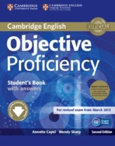 objective proficiency (2nd ed.): student s book pack (student s b ook with class audio cds (2))-annette capel-wendy sharp-9781107633681