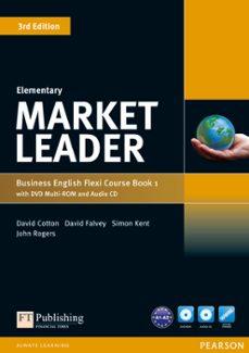 Enlace de descarga de libros de Google MARKET LEADER ELEMENTARY FLEXI COURSE BOOK 1 PACK de  RTF MOBI