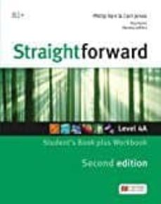 Descargar libros de texto de libros electrónicos gratis STRAIGHTFORWARD (2ND EDITION - SPLIT) 4A (B2+ / UPPER INTERMEDIATE) STUDENT S BOOK & WORKBOOK WITH WORKBOOK AUDIO CD 9781786329981 de AA.VV. MOBI