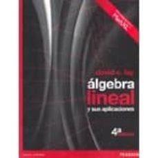 algebra lineal y sus aplicaciones 4ed-david c. lay-9786073213981