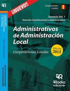 Vinisenzatrucco.it Administrativos De La Administracion Local. Corporaciones Locales . Volumen 1 Image
