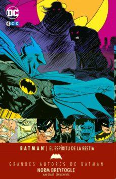 Alienazioneparentale.it Grandes Autores De Batman: Norm Breyfogle 4 - El Espiritu De La Bestia Image