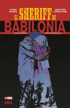 el sheriff de babilonia: edición integral-tom king-guillermo ruiz carreras-9788417531881