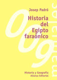historia del egipto faraónico (ebook)-josep padro i parcerisa-9788420687681