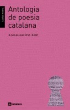 Electrónica e libros descarga gratuita ANTOLOGIA DE POESIA CATALANA 9788424636081 de  RTF FB2