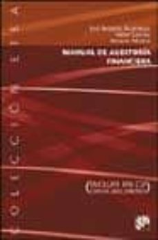 Descargar MANUAL DE AUDITORIA FINANCIERA (INCLUYE CD-ROM) gratis pdf - leer online