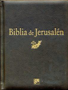 Carreracentenariometro.es Biblia De Jerusalen (5ª Ed.): Manual Modelo 2. Ed Lujo Cantos Dor Ados Image