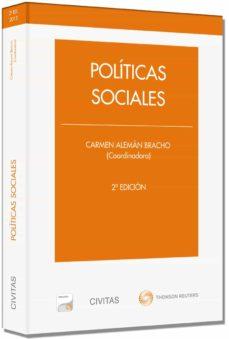políticas sociales (2ª ed.)-carmen aleman bracho-9788447045181