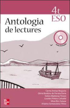 Cronouno.es Antología De Lectures. 4 Eso Image