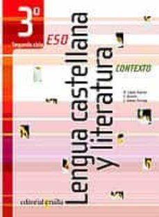 Upgrade6a.es Contexto Lengua Castellana Y Literatura (3º Eso 2º Ciclo) Image