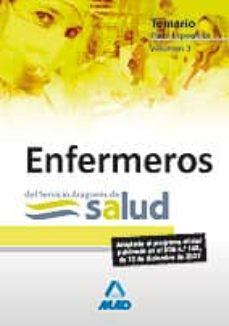 Elmonolitodigital.es Enfermeros: Servicio Aragones De Salud. Temario Parte Especifica Vol.3 Image