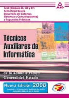 Titantitan.mx Tecnicos Auxiliares De Informatica: Test De Los Bloques Ii, Iii Y Iv Y Supuestos Practicos Image