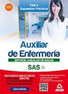 Encuentroelemadrid.es Auxiliar Enfermeria Del Servicio Andaluz De Salud. Test Y Casos Practicos Image