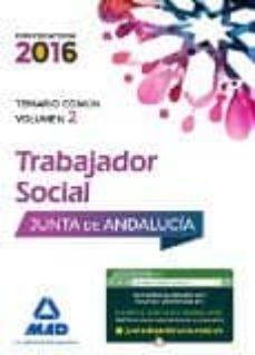 Concursopiedraspreciosas.es Trabajadores Sociales De La Junta De Andalucía. Temario Común Volumen 2 Image