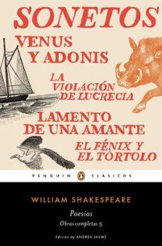 Lofficielhommes.es Poesias (Obra Completa Shakespeare 5) Image