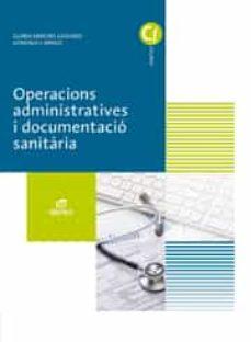 Permacultivo.es Operacions Administratives I Documentació Sanitària Ed 2017 Catalán (Grado Medio Cuidados Auxiliares De Enfermería) Image