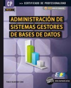 Descargar ADMINISTRACION DE SISTEMAS GESTORES DE BASES DE DATOS gratis pdf - leer online